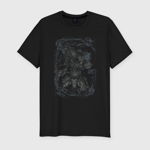 Мужская футболка премиум Хищник