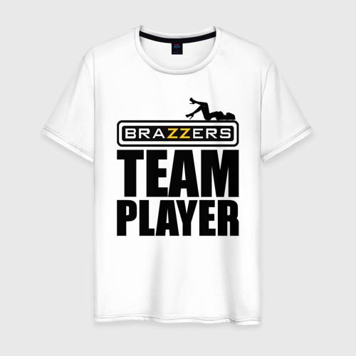 Мужская футболка хлопок BRAZZERS