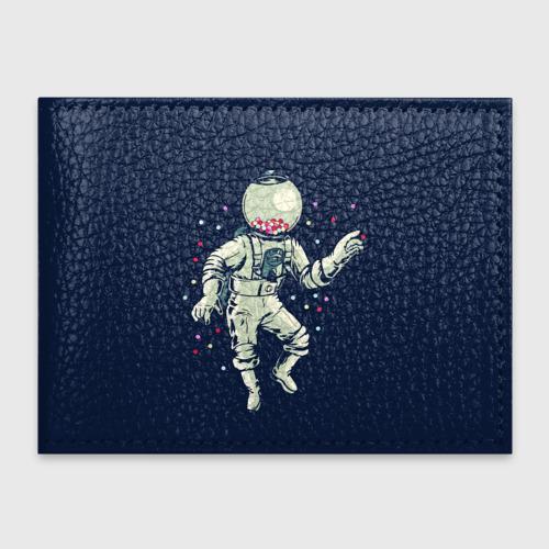 Обложка для студенческого билета Космонавт и конфеты Фото 01