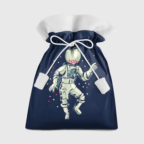 Подарочный 3D мешок Космонавт и конфеты Фото 01