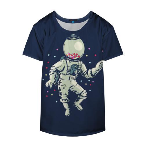 Накидка на куртку 3D Космонавт и конфеты Фото 01