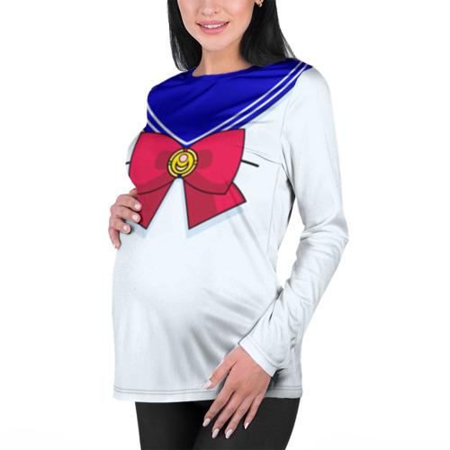 Женский лонгслив 3D для беременных  Фото 01, Матроска