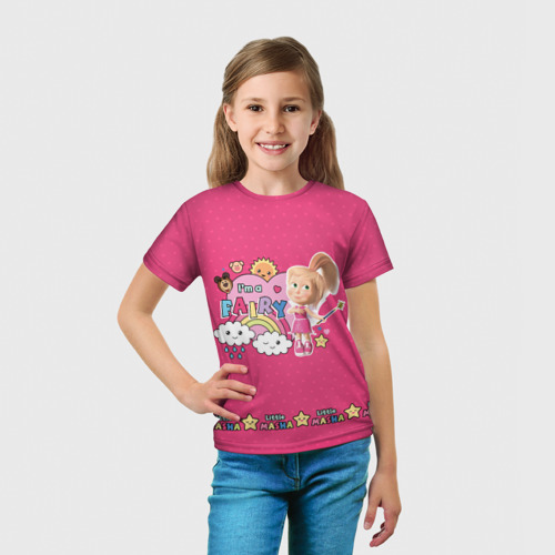 Детская футболка 3D  Фото 03, Fairy