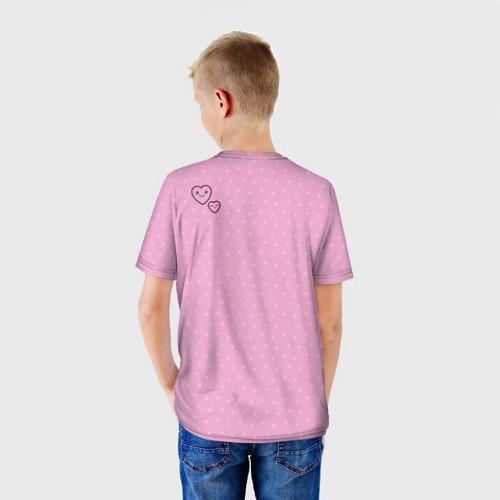 Детская футболка 3D  Фото 02, Розовая зайка