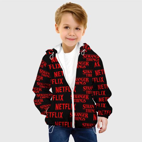 Детская куртка 3D  Фото 03, STRANGER THINGS