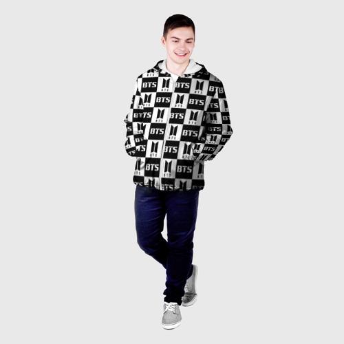 Мужская куртка 3D BTS PATTERN Фото 01