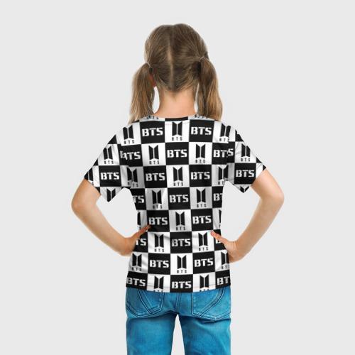 Детская футболка 3D BTS PATTERN Фото 01