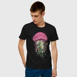 Медуза и цветы