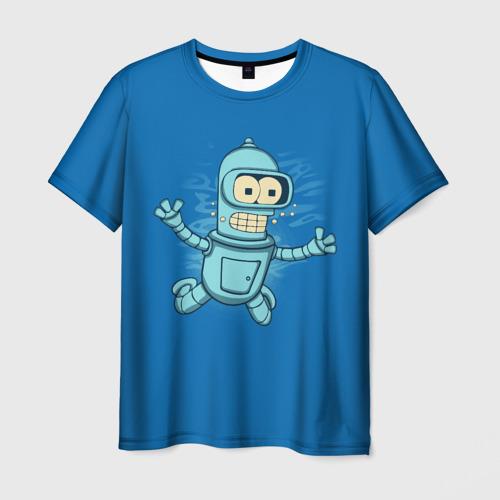 Мужская футболка 3D  Фото 03, Bender Nevermind