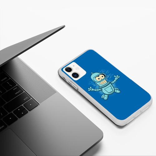 Чехол для iPhone 11 матовый Bender Nevermind Фото 01