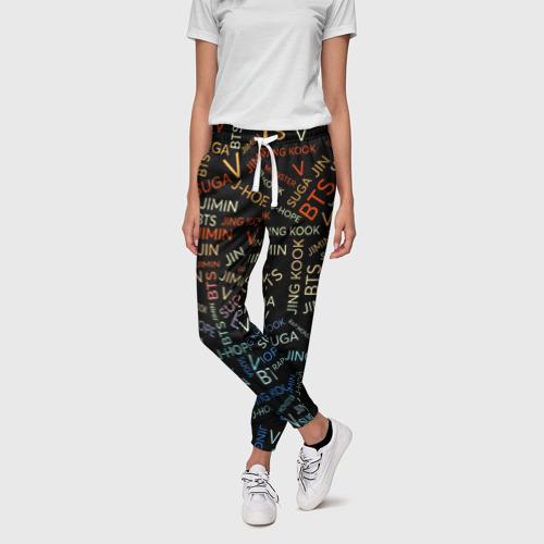 Женские брюки 3D  Фото 01, BTS