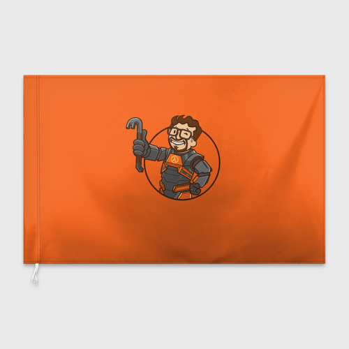 Флаг 3D  Фото 03, Freeman