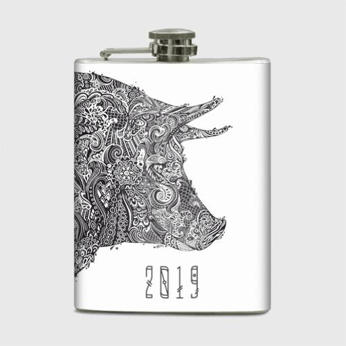 Фляга Год свиньи 2019