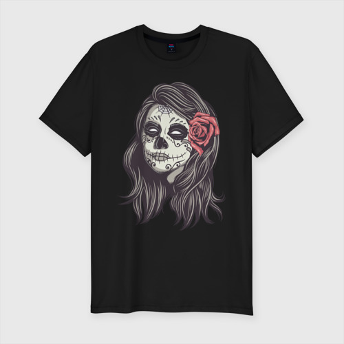 Мужская футболка премиум  Фото 01, Mexican girl