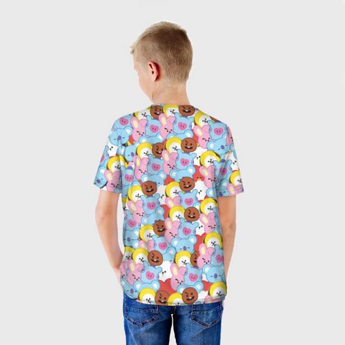 Детская футболка 3D BTS BT21 STICKERS Фото 01