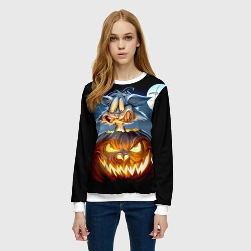 Женский свитшот 3D Halloween Фото 01