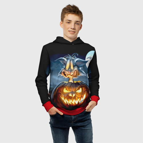 Детская толстовка 3D Halloween Фото 01