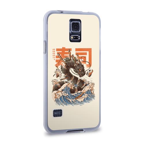 Чехол для Samsung Galaxy S5 силиконовый  Фото 02, Great Sushi Dragon