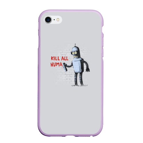 Чехол для iPhone 6Plus/6S Plus матовый Bender - Kill all human Фото 01