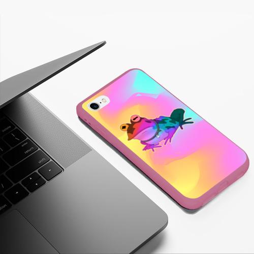 Чехол для iPhone 6Plus/6S Plus матовый Кислотная Гипножаба Фото 01