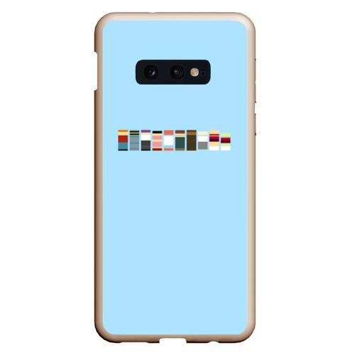 Чехол для Samsung S10E Футурама - минимализм Фото 01