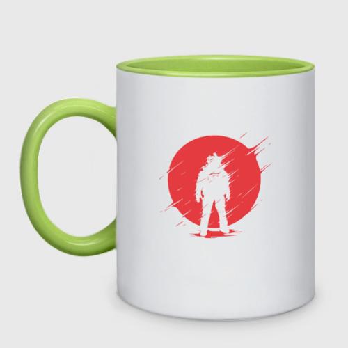 Кружка двухцветная Космонавт Фото 01