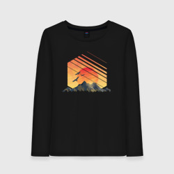 Закат солнца над горами