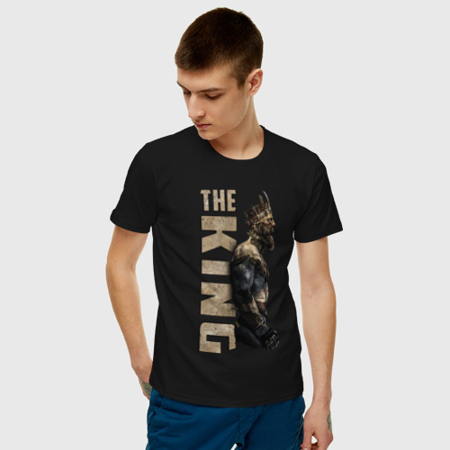 Мужская футболка хлопок Король Фото 01