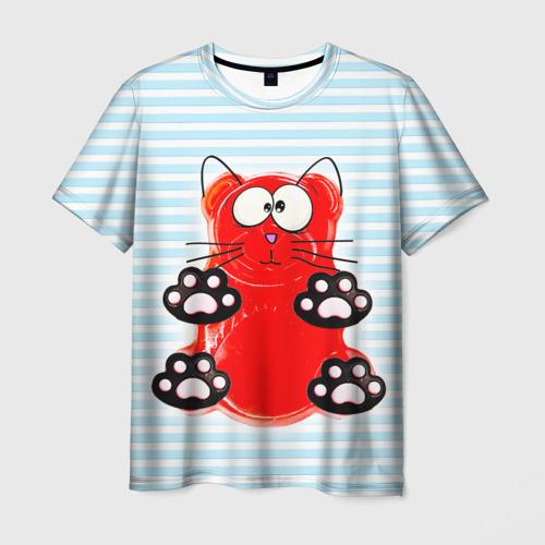 Мужская футболка 3D Медвекот