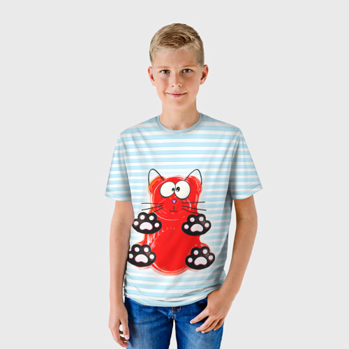 Детская футболка 3D Медвекот
