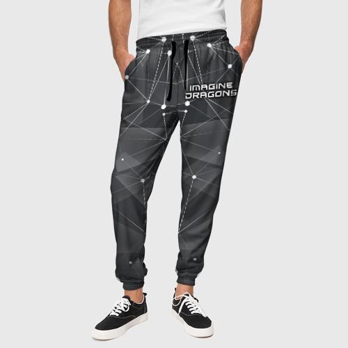 Мужские брюки 3D  Фото 01, Imagine Dragons The Darkness