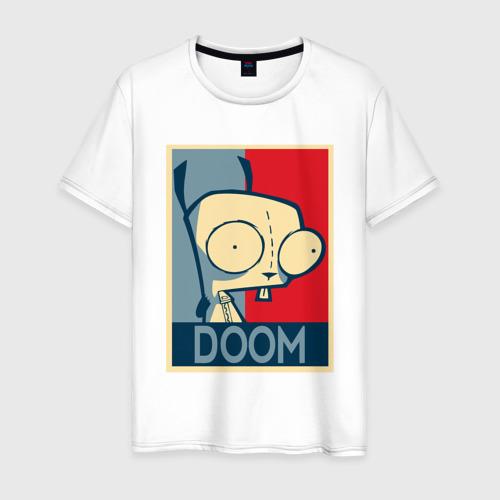 Мужская футболка хлопок Захватчик Зим