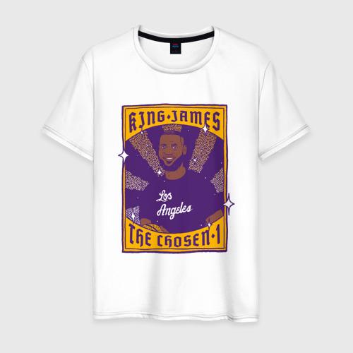 Мужская футболка хлопок King James
