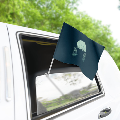 Флаг для автомобиля Sherlock Фото 01