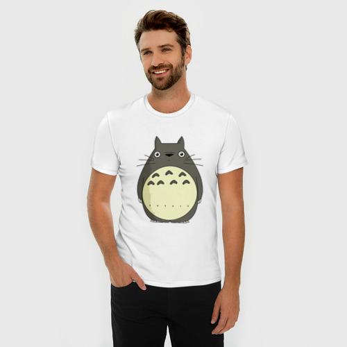Мужская футболка премиум  Фото 03, Милый Тоторо