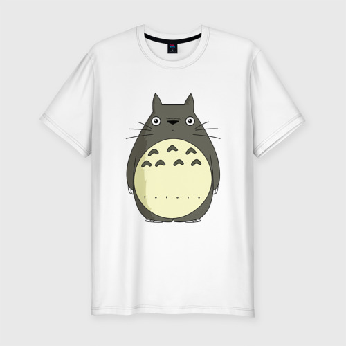 Мужская футболка премиум  Фото 01, Милый Тоторо