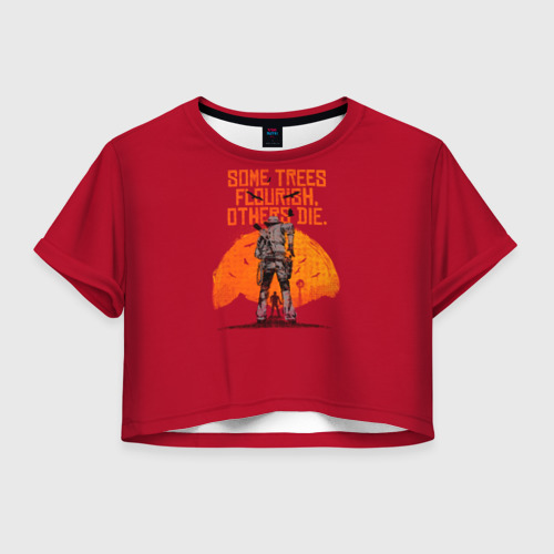 Женская футболка Cropp-top Red Dead Redemption 2 Фото 01