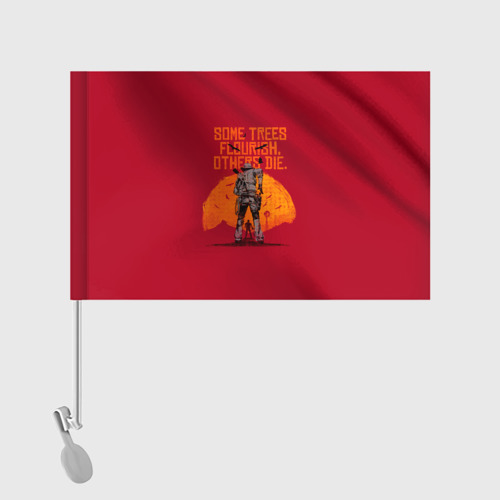Флаг для автомобиля Red Dead Redemption 2 Фото 01