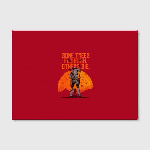 Холст прямоугольный Red Dead Redemption 2 Фото 01