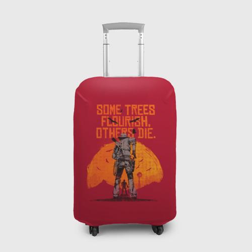 Чехол для чемодана 3D Red Dead Redemption 2 Фото 01