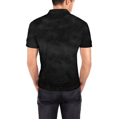 Мужская рубашка поло 3D  Фото 04, Кровосток