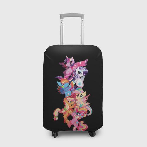 Чехол для чемодана 3D My Little Pony Фото 01