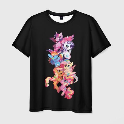 Мужская футболка 3D  Фото 01, My Little Pony