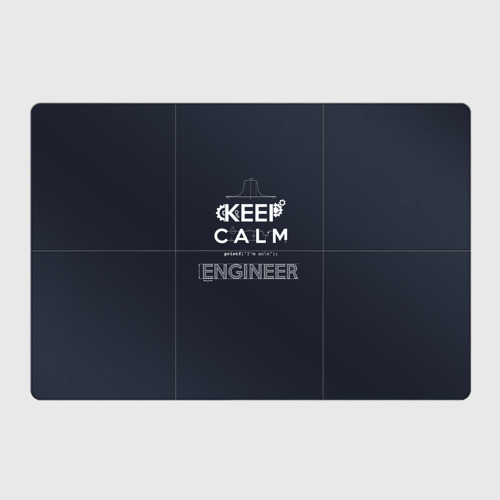 Магнитный плакат 3Х2 Keep Calm Engineer Фото 01