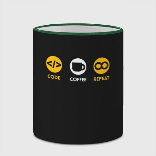 Кружка с полной запечаткой  Фото 03, Code Coffee Repeat