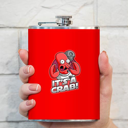 Фляга  Фото 03, It's A Crab!