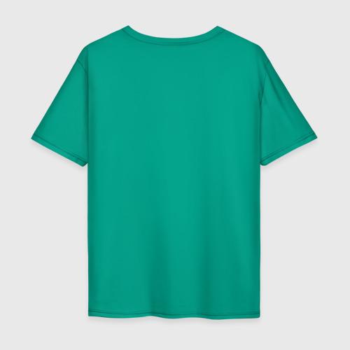Мужская футболка хлопок Oversize Свинка с ёлкой Фото 01