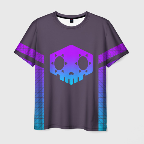 Мужская футболка 3D 'OVERWATCH SOMBRA'