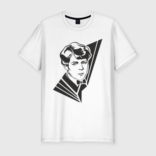 Мужская футболка премиум  Фото 01, Есенин