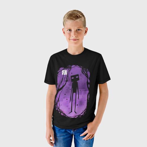 Детская футболка 3D Minecraft Эндермен Фото 01